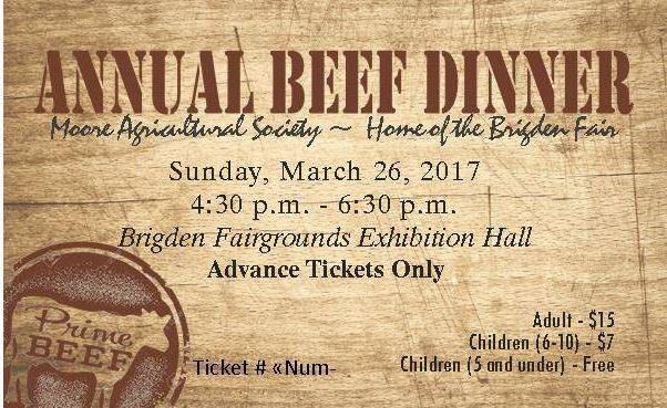 Annual Beef Dinner 2017