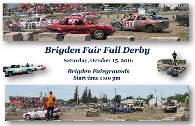 2016 Fall Demo Derby – Oct 15 @ 1:00pm