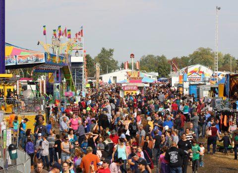 Crowd at Brigden Fair 2018