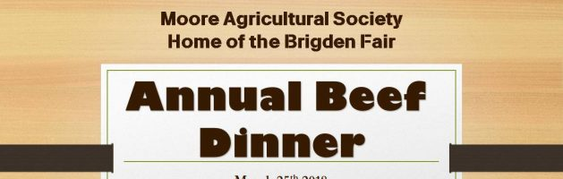 Annual Beef Dinner 2018