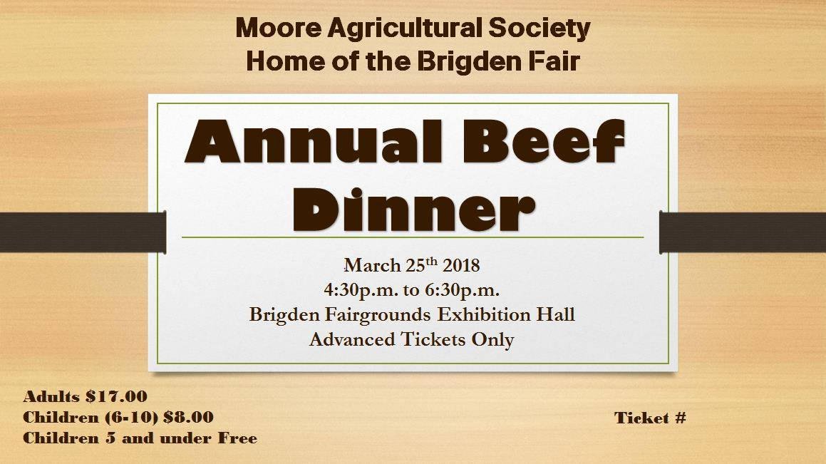 Annual Beef Dinner 2018 Image