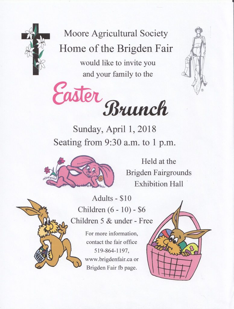 Easter Brunch 2018 Poster