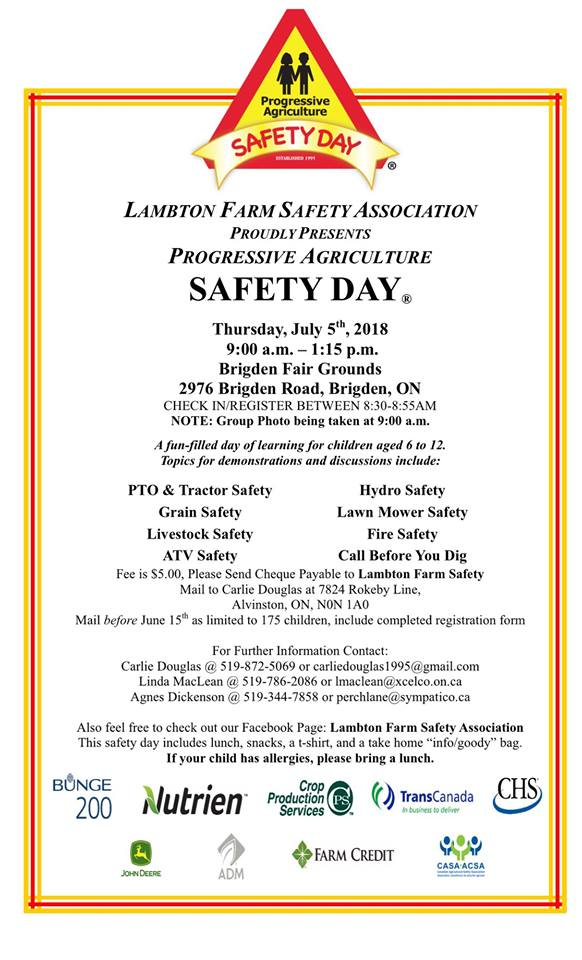 Farm Safety Day 2018
