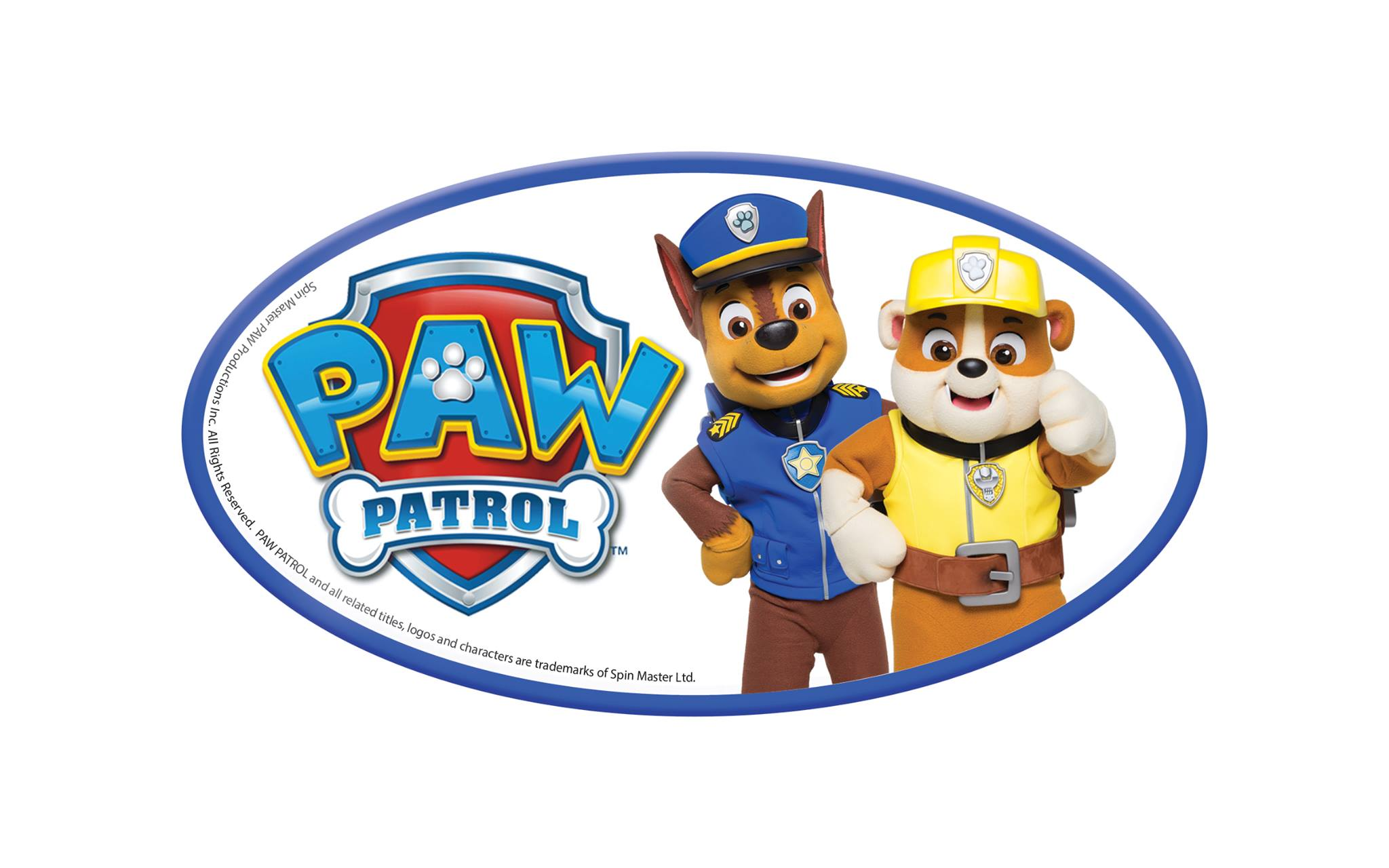Paw Patrol Chase & Rubble