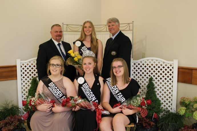 Brigden Fair Ambassador Contestants 2017