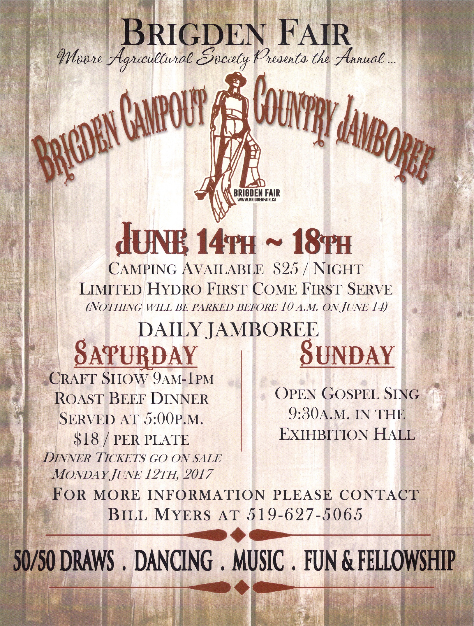 Brigden Campout Country Jamboree 2017