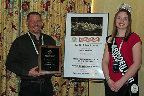 Brigden Fair wins 2013 Fair of the Year from World's Finest Shows