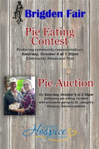 Pie Contest and Auction 2018