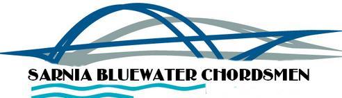 Bluewater Chordsmen Logo